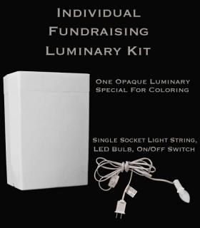 Individual Fundraising Luminary Kit